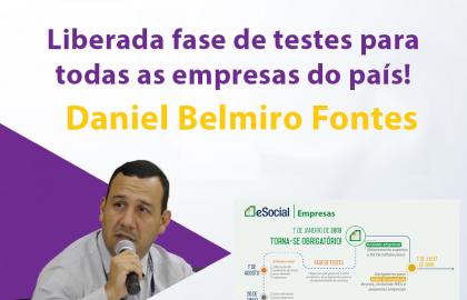 Comentários Daniel Belmiro sobre o ambiente de testes!