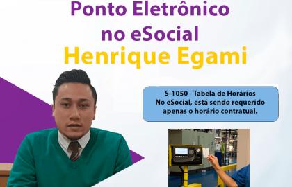Ponto Eletrônico no eSocial